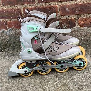 Athena k2 Rollerblades size 10